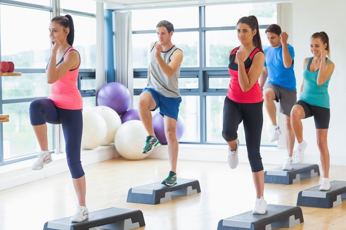 What effect does aerobic exercise have on muscles for Que significa gym