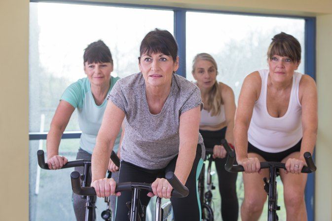 How Many Calories Do I Burn Riding an Exercise Bike?
