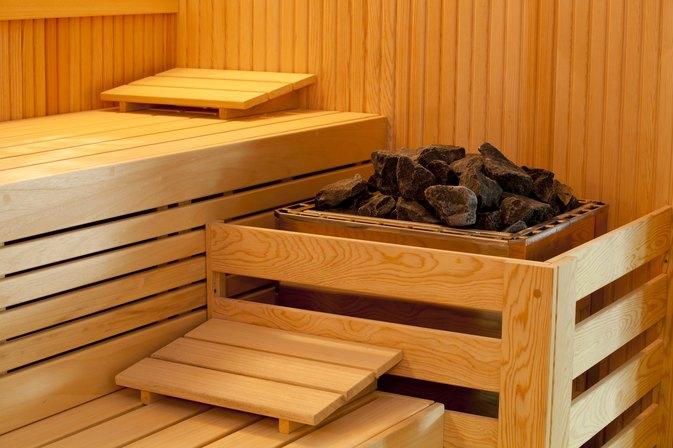 Steam and sauna
