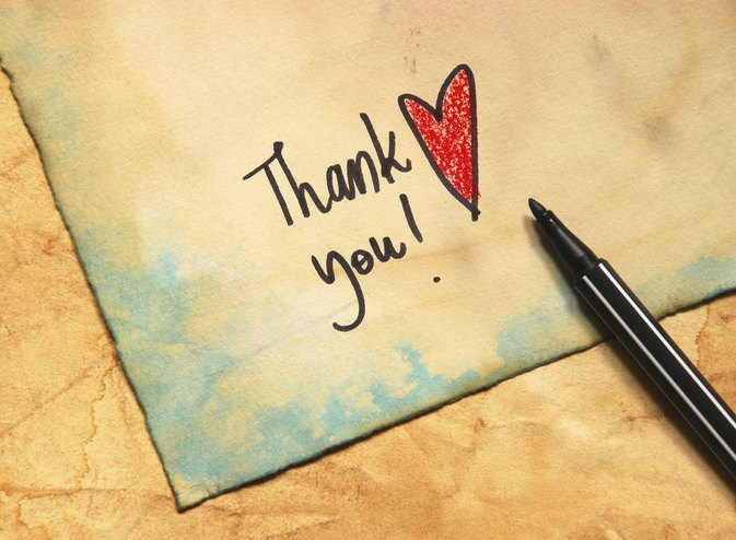 How To Write A Thank You Note To Family  LivestrongCom