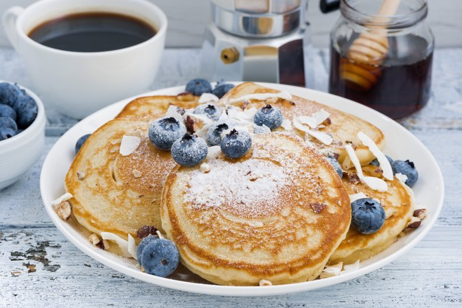 Nutrition Information for Cracker Barrel's Blueberry Pancakes