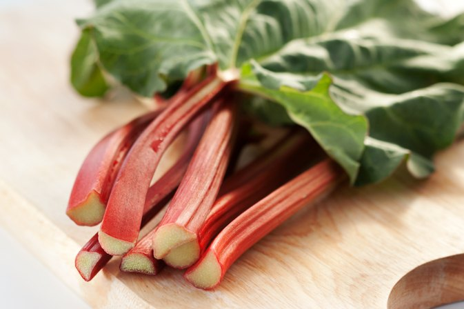 How to Freeze Raw Rhubarb