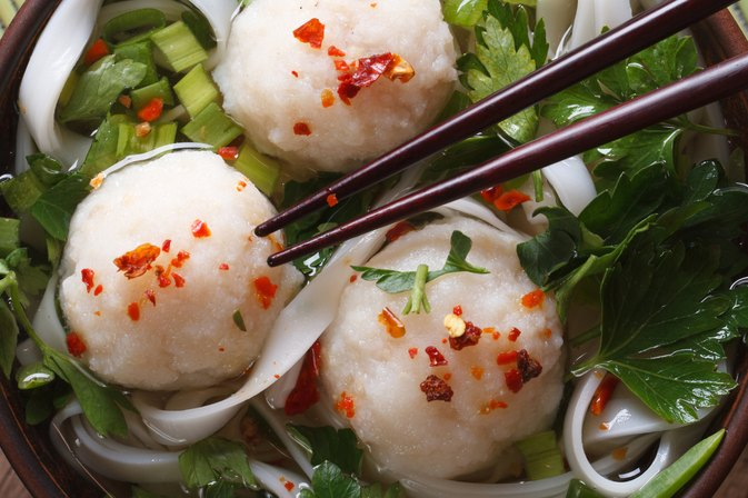 Nutrition Values in Chinese Fish Balls