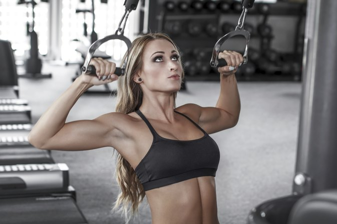 Lat Pulldown for Triceps