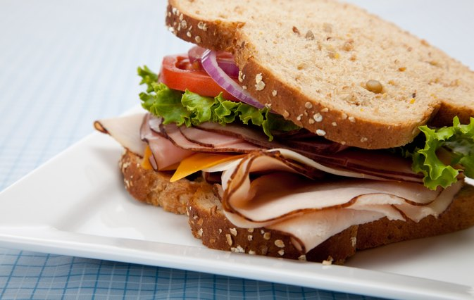 How Many Calories in a Turkey Club Sandwich on Wheat?