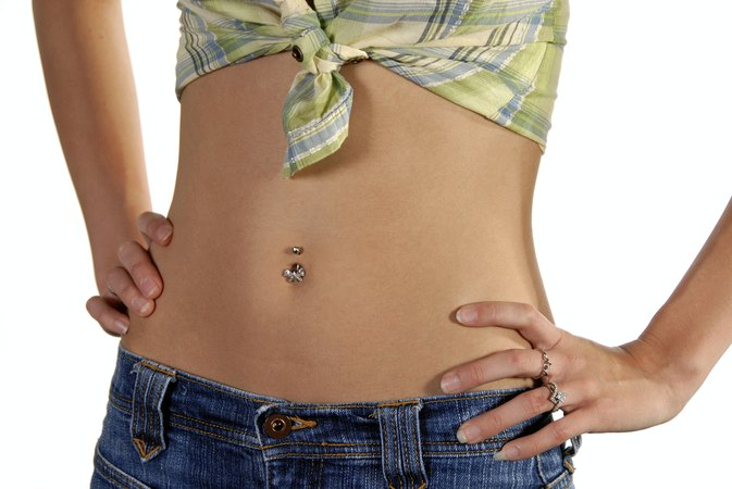 What Type of Rings Can You Get When You First Get Your Belly Button Pierced?