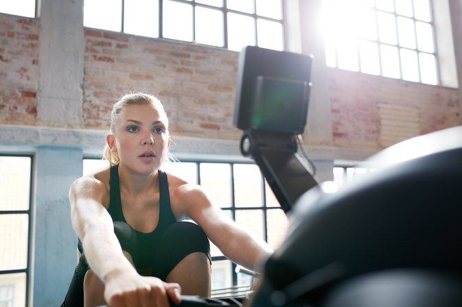 Used Rowing Machine >> Concept2 Rowing Workouts   LIVESTRONG.COM