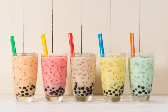 calories in boba green tea livestrongcom