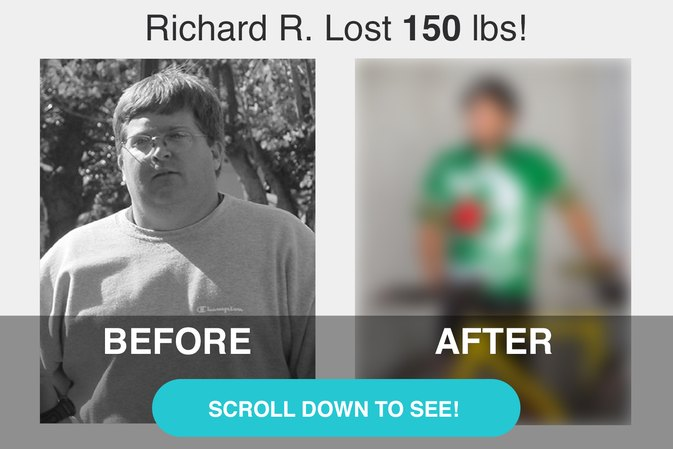 Richard R. Lost 150 Pounds!  LIVESTRONG.COM Success Story
