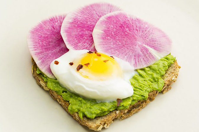 This Poached Eggs and Avocado Toast Recipe Has 12 Grams of Protein