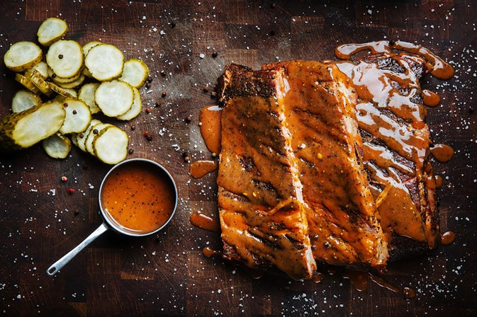 How to Cook Ribs in the Oven and Then Grill Them