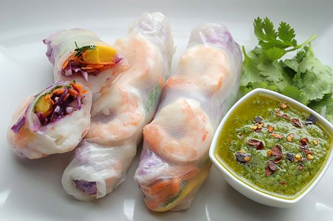 These Gluten-Free Spring Rolls Are Only 230 Calories