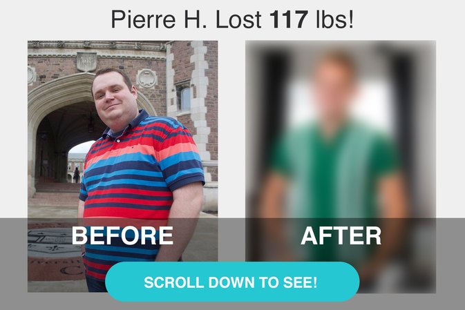 How a Friend's Advice Helped Pierre H. Lose 117 Pounds