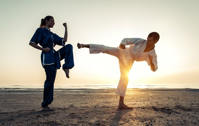 Taekwondo Speed Training