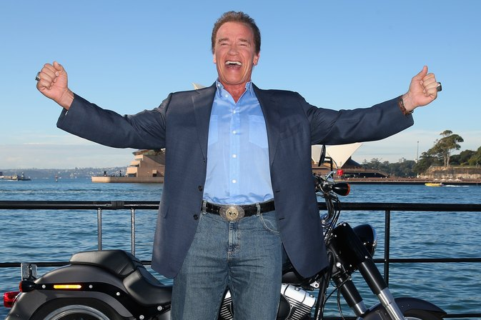 Arnold Schwarzenegger's first words post-heart surgery will make you laugh