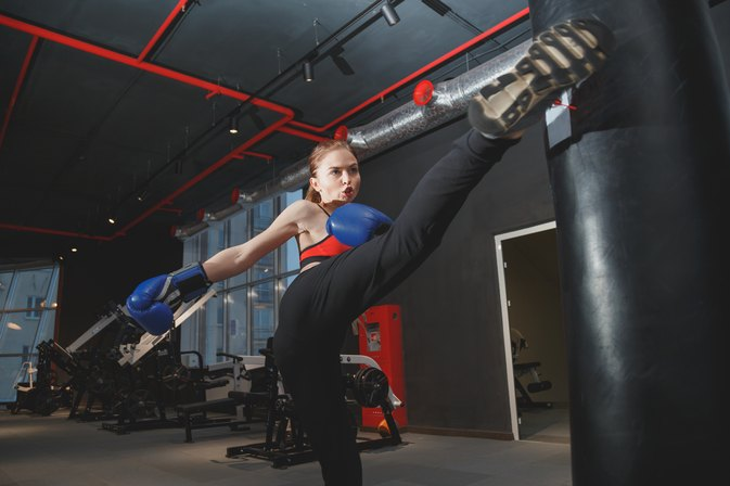 The Best Athletic Shoe for Women's Kickboxing