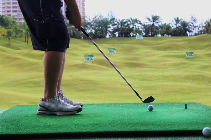 Driving Range Golf Practice Drills