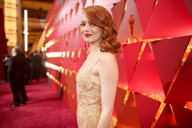 Emma Stone Deadlifted 185 Pounds for New Role