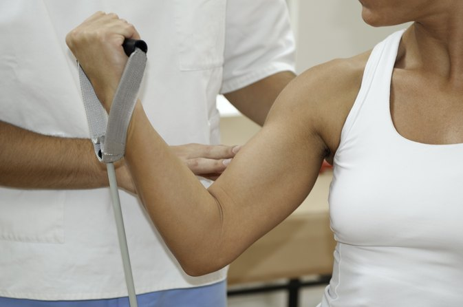 Healing a Torn Biceps Muscle Tendon