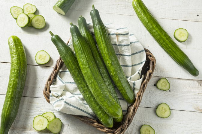 How to Eat Cucumbers to Lose Weight