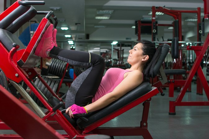 The Average Weight For Leg Press Exercises Livestrong