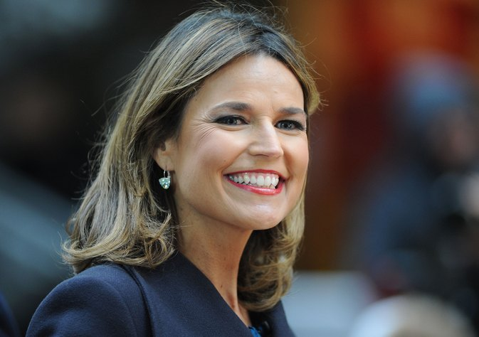 Savannah Guthrie has no shame about her wrinkles