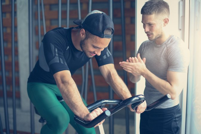 Interval Training on a Stationary Bike