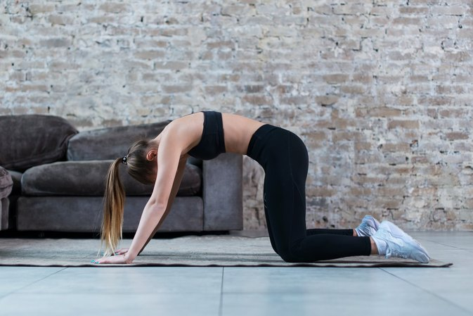 Easy At-Home Exercises to Lose Weight With Lower Back Pain