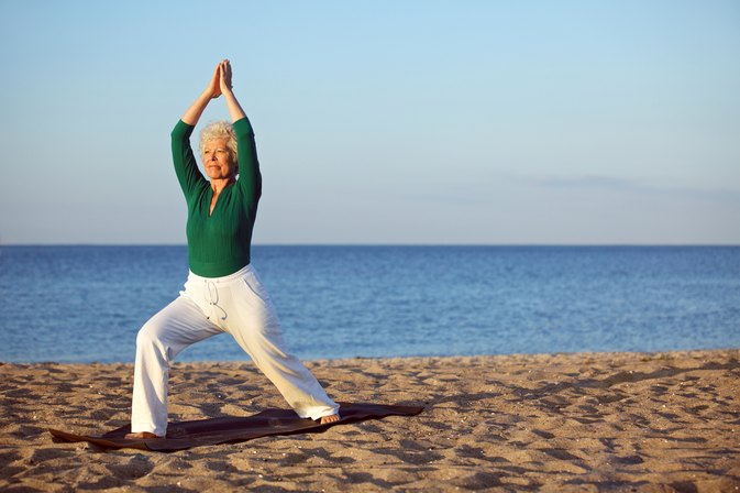Why should senior citizens perform balance exercises