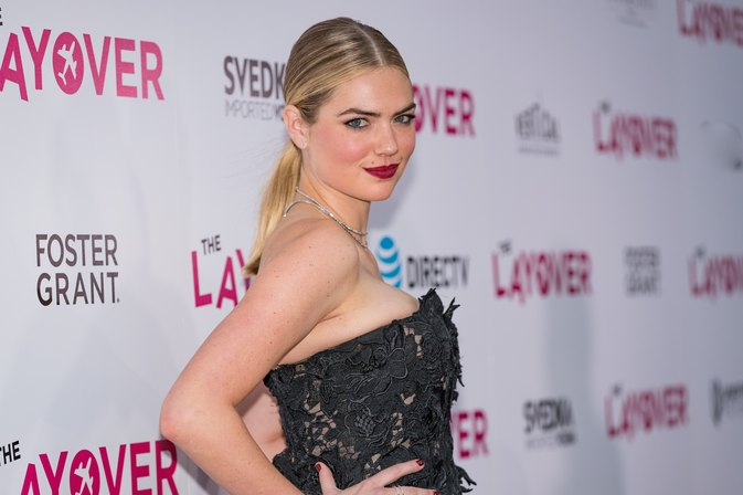 Kate Upton Lifts 225 Pounds — With Her Hips!