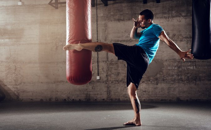 How to Teach Yourself Kickboxing