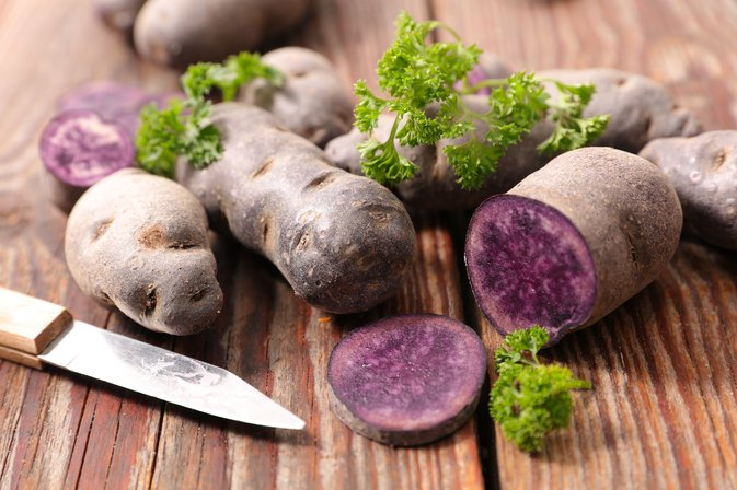 Why Purple Potatoes May Help Prevent Colon Cancer