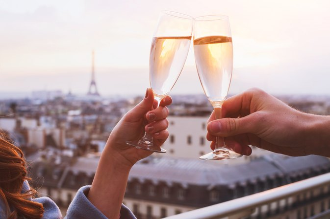 The Real Reason You Should Never Drink Champagne From a Plastic Cup