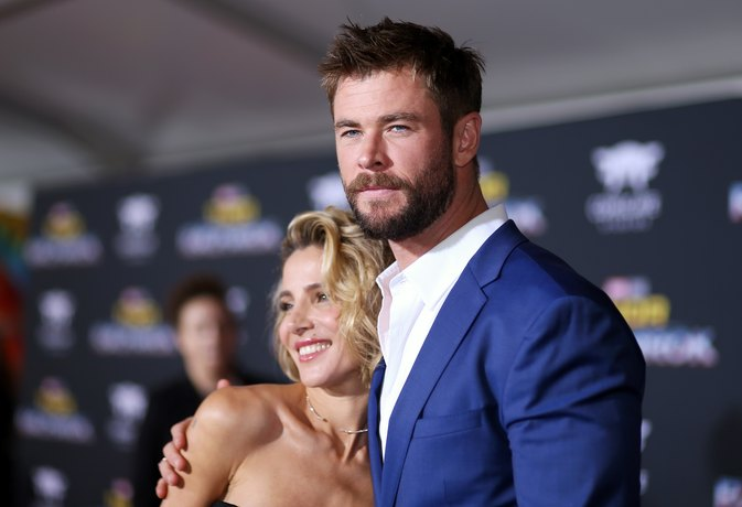 Chris Hemsworth Admits His Wife Is Fitter Than He Is