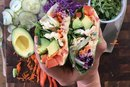 How to Make a Quick and Easy Rainbow Collard Wrap