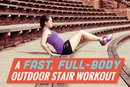 A Fast, Full-Body Outdoor Stair Workout