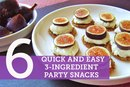 6 Quick and Easy 3-Ingredient Party Snacks