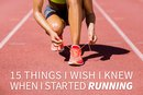15 Things I Wish I Knew When I Started Running