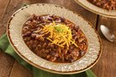 Calories in Chili With Beef and Beans