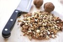 Nutrition Information for 1/4 Cup of Walnuts