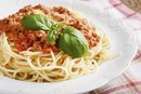 Calories in Spaghetti With Meat Sauce