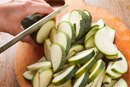 How to Fry Cook Zucchini on a Stove