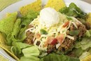 Nutrition Information of a McDonald's Southwest Salad
