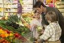 Calorie List for Vegetables