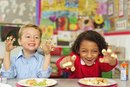 What Are the Benefits of Children Eating Snacks During School?