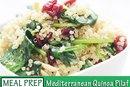 #Mealprepmonday Recipe: Mediterranean Quinoa Pilaf