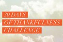 30 Days of Thankfulness Challenge