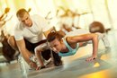 A Push-Up Workout Is How Many Reps?