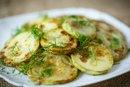 Grilled Pattypan Squash