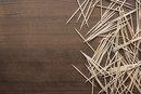 Toothpicks Vs. Flossing